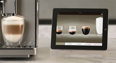 """Smart Coffee""-App von Saeco (2014)"